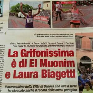 Corriere Dell'Umbria 9-05-16