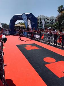 arrivo Ironman70.3